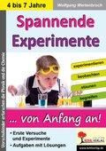 Spannende Experimente im Kindergarten