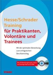 Training für Praktikanten, Volontäre und Trainees, m. CD-ROM