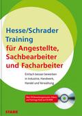 Training für Angestellte, Sachbearbeiter, Facharbeiter, m. CD-ROM