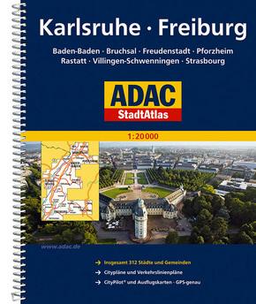 ADAC StadtAtlas Karlsruhe, Freiburg