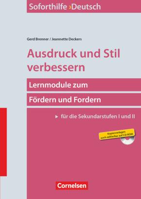 Ausdruck und Stil verbessern, m. CD-ROM