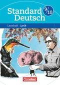 Standard Deutsch: 9./10. Schuljahr, Leseheft Lyrik