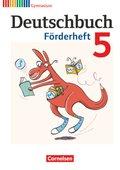 Deutschbuch Gymnasium, Fördermaterial: 5. Schuljahr, Förderheft