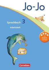 Jo-Jo Sprachbuch, Allgemeine Ausgabe, Neubearbeitung: 3. Schuljahr, Arbeitsheft