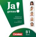 Ja genau! - Deutsch als Fremdsprache: 1 Audio-CD für den Kursraum; Bd.B1/2