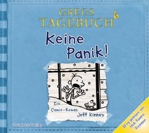 Gregs Tagebuch - Keine Panik!, 1 Audio-CD