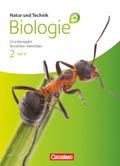 Natur und Technik, Biologie (Neue Ausgabe), Grundausgabe Nordrhein-Westfalen: Schülerbuch; Bd.2 - Tl.A