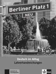 Berliner Platz NEU: Lehrerhandreichungen