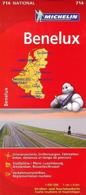 Michelin Karte Benelux