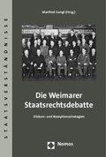 Die Weimarer Staatsrechtsdebatte