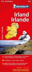 Michelin Karte Irland; Irlande