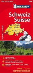 Michelin Karte Schweiz; Suisse