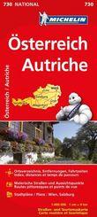 Michelin Karte Österreich; Autriche
