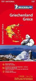 Michelin Karte Griechenland; Grèce