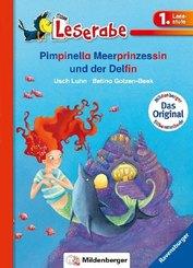 Pimpinella Meerprinzessin und der Delfin - Leserabe 1. Klasse - Erstlesebuch für Kinder ab 6 Jahren