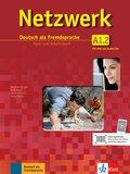 Netzwerk: Kurs- und Arbeitsbuch, m. Audio-CDs u. 1 DVD; Bd.A1.2