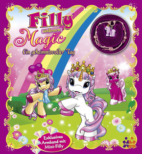 "Filly Unicorn, Magic, Ein geheimnisvoller Tag, m. Schmuckset ""Magic"""