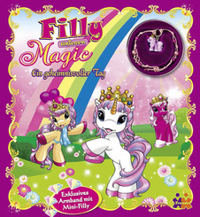 """Filly Unicorn, Magic, Ein geheimnisvoller Tag, m. Schmuckset """"Magic"""""""