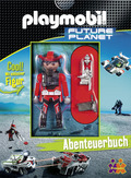 Playmobil Future Planet, Abenteuerbuch u. Playmobil-Figur