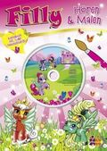 Filly, Hören & Malen, m. Audio-CD