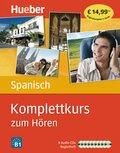 Komplettkurs Spanisch zum Hören, 9 Audio-CDs u. Begleitheft