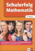 Schulerfolg Mathematik; 7. Klasse