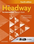 New Headway Pre-Intermediate, Fourth Edition: Teacher's Book, w. CD-ROM