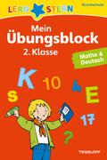 Mein Übungsblock 2. Klasse, Mathe & Deutsch