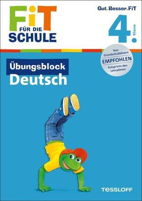 Übungsblock Deutsch, 4. Klasse