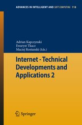 Internet - Technical Developments and Applications - Vol.2