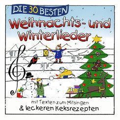 Die 30 besten Weihnachts- und Winterlieder, 1 Audio-CD