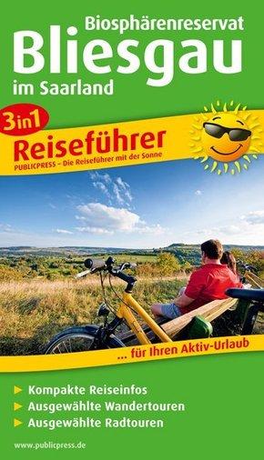 3in1-Reiseführer Biosphärenreservat Bliesgau im Saarland