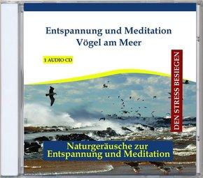 Entspannung und Meditation Vögel am Meer, 1 Audio-CD