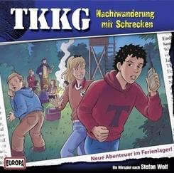 TKKG - Nachtwanderung mit Schrecken, 2 Audio-CDs