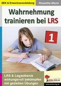 Wahrnehmung trainieren bei LRS - Bd.1