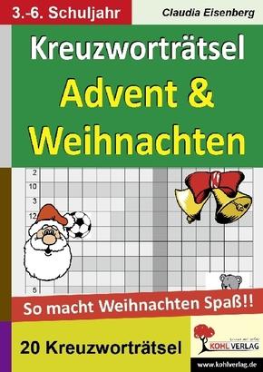 Kreuzworträtsel Advent & Weihnachten
