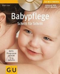 Babypflege Schritt für Schritt, m. DVD