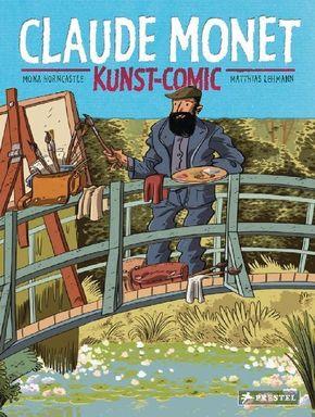 Claude Monet, Kunst-Comic