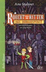 Robert und die Ritter III, Das Burggespenst