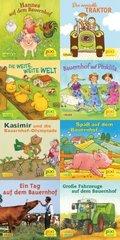 Pixi Bücher: Pixi-Serie 208 (Pixi besucht den Bauernhof); Serie.208 (64 Expl. (8 Titel))