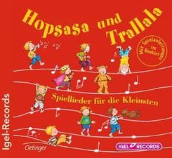 Hopsasa und Trallala, 1 Audio-CD
