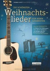 Die schönsten Weihnachtslieder für jeden Gitarristen
