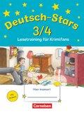 Deutsch-Stars: 3./4. Schuljahr: Lesetraining für Krimifans