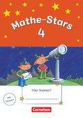 Mathe-Stars: 4. Schuljahr - Übungsheft mit Lösungsheft