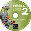 Politik & Co., Ausgabe Baden-Württemberg, Neubearbeitung: Lehrermaterial, 1 CD-ROM + Erklärfilme; Bd.2