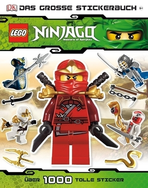 LEGO® NINJAGO™, Das große Stickerbuch
