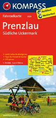 Kompass Fahrradkarten: Prenzlau, Südliche Uckermark