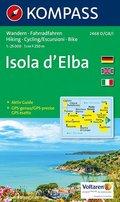 KOMPASS Wanderkarte Isola d' Elba