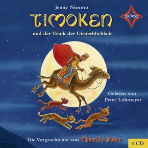 Timoken und der Trank der Unsterblichkeit, 4 Audio-CDs