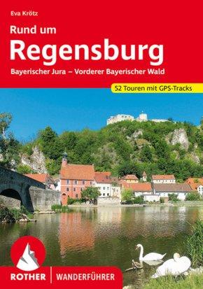 Rother Wanderführer Rund um Regensburg